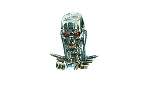 Wallpaper robot, Terminator, Cyborg