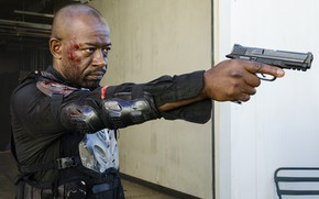 Picture Morgan, The Walking Dead, Lennie James, Season 8
