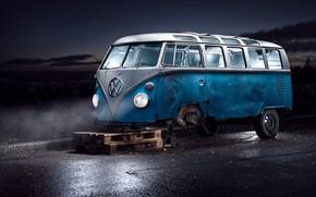 Picture road, bus, repair