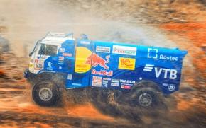 Picture Water, Sport, Speed, Truck, Race, Master, Squirt, Russia, Kamaz, Rally, Dakar, KAMAZ-master, Dakar, Rally, KAMAZ, …