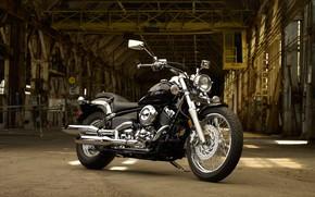 Picture Yamaha, Custom, Motorcycle, V-Star 650