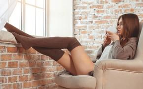 Picture girl, legs, beauty, socks