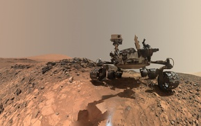 Wallpaper Mars science laboratory, Curiosity, planet, the Rover, NASA, Mars