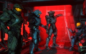 Picture soldiers, helmet, armor, halo, spartan, master chief, John-117