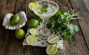 Picture Cocktail, Lime, Mint