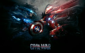 Picture captain america, iron man, falcon, war machine, black panther, captain america:civil war, scarlet witch