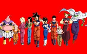 Picture alien, anime, hero, martial artist, manga, fighters, japanese, champion, Son Goku, Vegeta, Dragon Ball, Small, …
