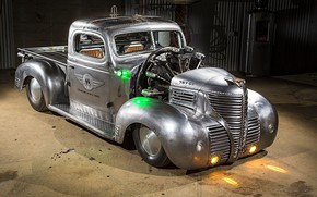 Picture Plymouth, Truck, Pickup, 1939, Modifield