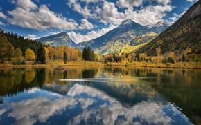 Wallpaper landscape, nature, reflection, beauty
