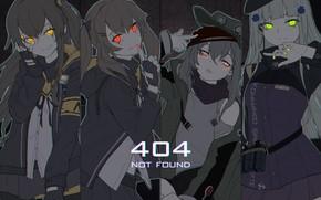 Picture girls, anime, art, Girls Frontline