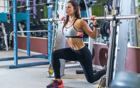 Picture look, pose, figure, fitness, woman, workout, gym, fitness, gym, training, hard work, gym