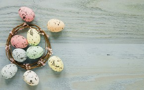 Picture holiday, eggs, Easter, wreath, Orthodox holiday