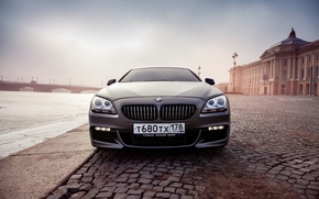 Picture car, machine, auto, bridge, city, fog, race, bmw, BMW, car, sports car, car, need for …