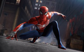 Picture The game, Graffiti, Costume, Hero, Mask, Superhero, Hero, Graffiti, Marvel, Spider-man, Spider-man, Game, Comics, Peter ...