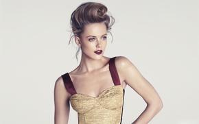 Picture background, model, dress, model, Frida Gustavsson