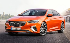Picture Insignia, Opel, sedan, front view, 2018, GSI