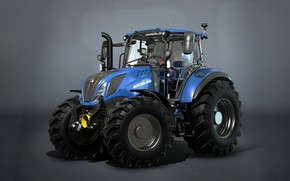 Picture Farming Simulator 17, tractor, New Holland T5