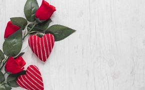 Picture Hearts, Holiday, Roses, Valentine's day, Valentine's day