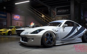 Wallpaper NFS, Need For Speed, 2017, Need For Speed: Payback, Electronic Arts, Nissan 350Z