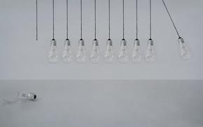 Wallpaper macro, background, lamp