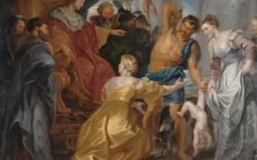 Picture picture, Peter Paul Rubens, mythology, The Judgement Of Solomon, Pieter Paul Rubens