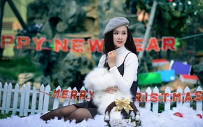 Picture holiday, beauty, Asian