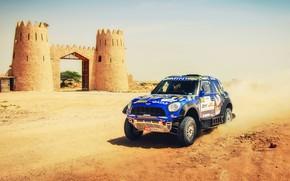 Picture Sand, Mini, Dust, Sport, Speed, Race, Tower, Rally, SUV, Rally, 206, X-Raid Team, MINI Cooper, …