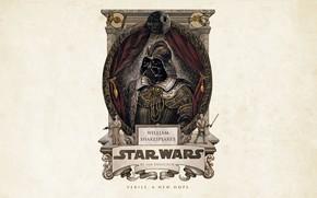 Wallpaper Star Wars, Darth Vader, fantasy, minimalism, science fiction, sci-fi, movie, film, artwork, Luke Skywalker, simple ...