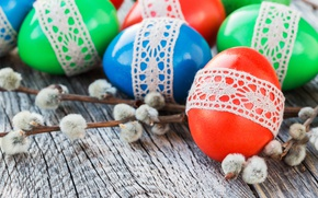 Picture Branches, Easter, Eggs, Holiday