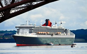 Picture Liner, The ship, Queen Mary 2, Passenger, Passenger liner, Boats