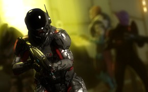 Picture rendering, the suit, armor, mass effect, shepard, pathfinder