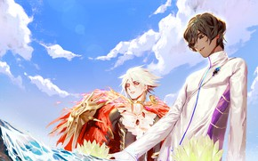Picture anime, art, guys, Fate / Grand Order