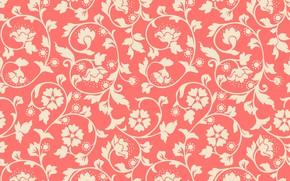 Wallpaper vintage, texture, ornament