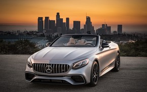 Picture Mercedes-Benz, Cabriolet, AMG, 2018, Los Angeles, Los Angeles, 4MATIC, S63