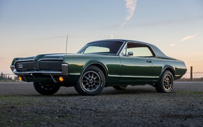 Picture style, retro, classic, 1967, XR-7, Mercury Cougar