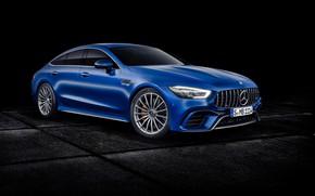 Picture Concept, the concept, Mercedes, black background, Mercedes, GT-Class