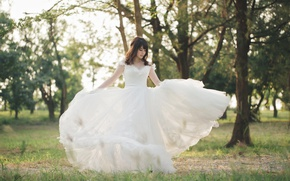 Picture summer, girl, dress