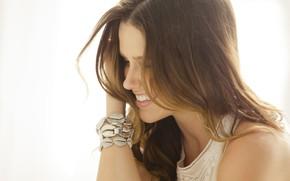 Picture smile, actress, Sophia Bush