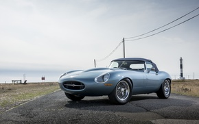 Picture machine, Jaguar, Eagle, sportcar, Spyder, british, Road, E-TYPE