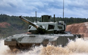 Picture tank, Russian main battle tank, Object 148, Armata, T-14