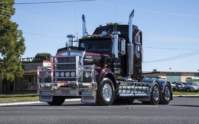 Picture street, kenworth, trac