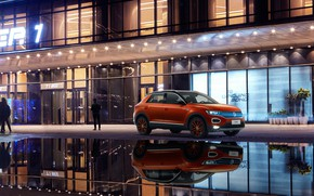 Picture the city, Volkswagen, 2018, crossover, 4Motion, T-Roc