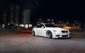 Picture BMW, Front, White, E92, Liberty, Walk