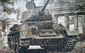 Wallpaper Soviet medium tank, T-34, silhouette, victory, photos, face