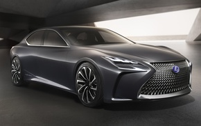 Picture car, Lexus, logo, LF-FC, Lexus LF-FC
