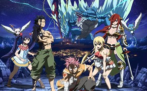 Picture game, anime, pretty, Lucy, dragon, asian, Gray, Carla, manga, Happy, Wendy, japanese, Fairy Tail, Natsu, …