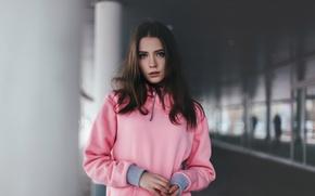 Picture portrait, sponge, Kseniya Kokoreva