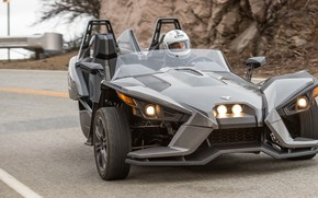 Picture beautiful, comfort, hi-tech, Polaris, Slingshot, technology, sporty, tricycle, 042