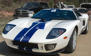 Picture design, Ford GT, sports car