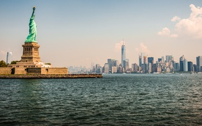 Picture New York, Statue of Liberty, Metropolis